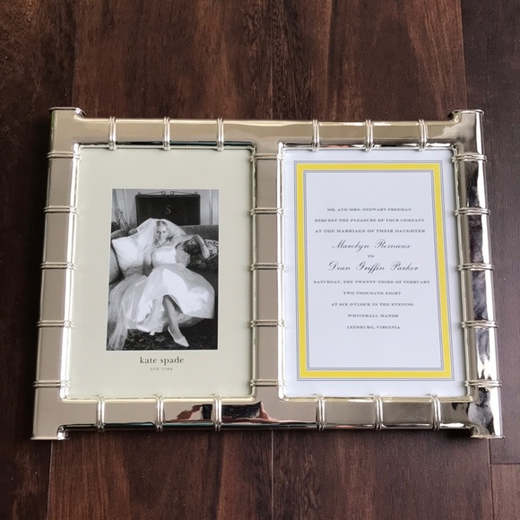 Kate Spade Other Lenox Wedding Picture Frame New Poshmark